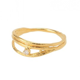 goldie H.P.FRANCE - Alex Monroe Ring