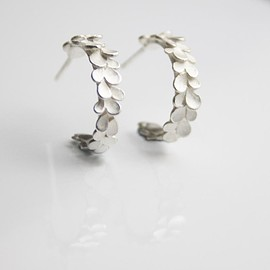 dkjewellery - Beautiful Silver Hoop Earrings image 0