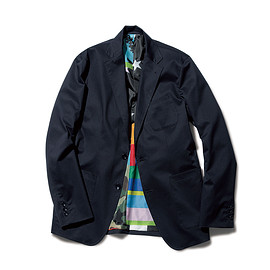 SOPHNET. - STRETCH GABARDINE 2 BUTTON JACKET