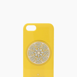 kate spade NEW YORK - sparkle lemon iphone 5 case