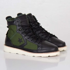 Converse, UNDEFEATED - Pro Field Hi - Black/O.D./White