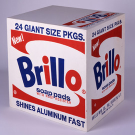 Andy Warhol - Brillo Soap Pads Box , 1964