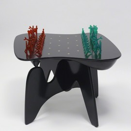 ISAMU NOGUCHI - Chess Table and Pieces, 2006
