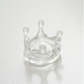 Luce macchia - water crown ring