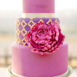 flower - Peony decorated cake