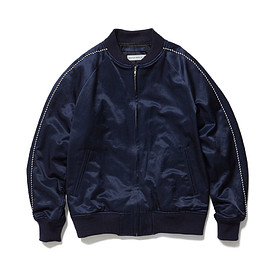 HEAD PORTER PLUS - SOUVENIR JACKET NAVY