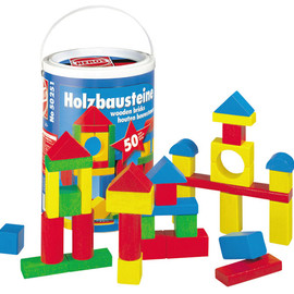 HEROS - colorful wooden blocks