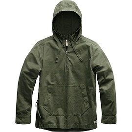 THE NORTH FACE - Battlement Anorak - Burnt Olive Green