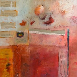 Alayne Spafford - fortythree-19, mixed media on canvas