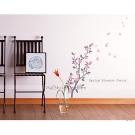 Poppy Flower Wall Sticker