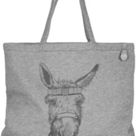 Mulberry - Donkey-printed jersey tote
