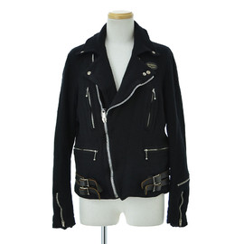COMME des GARCONS JUNYA WATANABE MAN, Lewis Leathers - Lewis Leathers 縮絨ライダースジャケット
