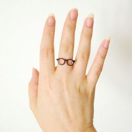 Lilou - MEGANE RING wellington 11 mat black
