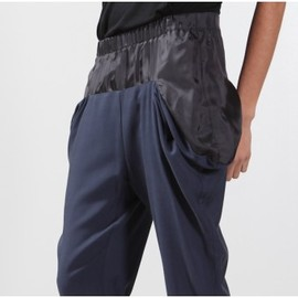 mm6 maison martin margiela - Charcoal Fold up Pant