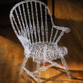 Brent Kee Young - chair, glass