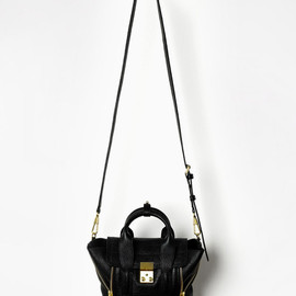 "3.1 Phillip Lim - ""PASHLI"" MINI SATCHEL  (BLACK)"