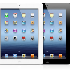 Apple - iPad (2012)  Wi-Fi 64GB White/Black