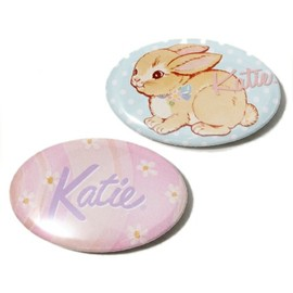 Katie - BADGE oval set of 2
