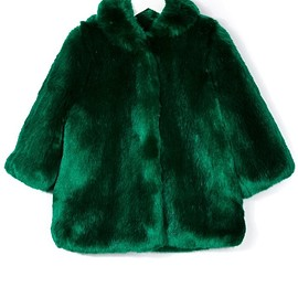 Hucklebones London - faux fur coat