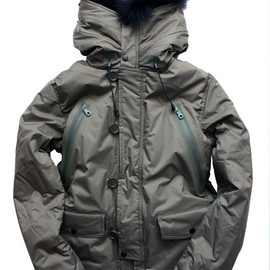 MINOTAUR - WATERPROOF STRETCH N3B DOWN JACKET FUR