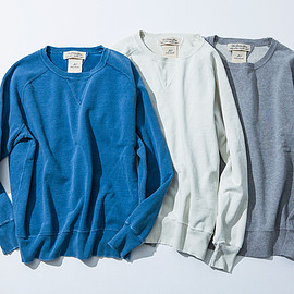 REMI RELIEF - REMI RELIEF×AMERICAN RAG CIE SWEAT SHIRT