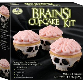 Jo Cupcake - Brains Cupcake Kit