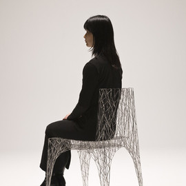 jun hashimoto - wire chair