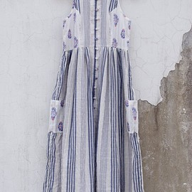 इत्र by Khyati Pande - Nautical Summer Dress – 'इत्र' by Khyati Pande