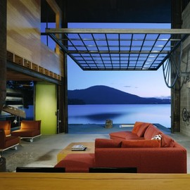 Olson Kundig Architects - Chicken Point Cabin (Northern Idaho)