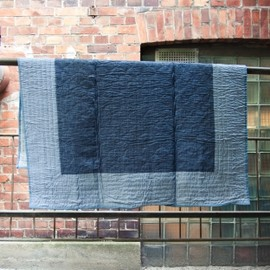 A.P.C. - Sea Side Small Quilt Blue / Grey