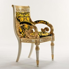 Versace Home - Vanitas Armchair Black