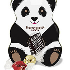 Fauchon - panda chocolates tin