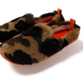 A Bathing Ape - Image of A Bathing Ape 2013 Fall/Winter 1ST CAMO FUR ROOM SHOES