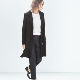 ZARA - COAT WITH LAPELS