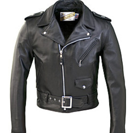 schott - One Star Perfecto Leather Motorcycle Jacket 613
