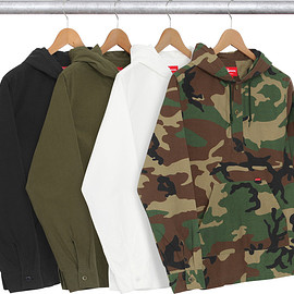 Supreme - Supreme 通販 Hooded Ripstop Pullover Shirt