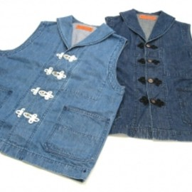 SASQUATCHfabrix. - CHINA DENIM VEST