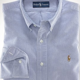 POLO RALPH LAUREN - Classic-Fit Basic Oxford