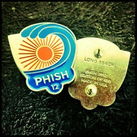Phish - Official Long Beach LE Pin. Solid pewter, edition of 400, made in the USA.
