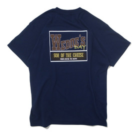 SON OF THE CHEESE - WEDESDAY TEE NAVY