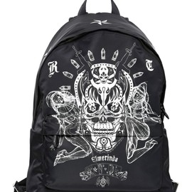 GIVENCHY - TATTOO PRINTED TECHNO CANVAS BACKPACK