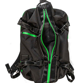 TUMI, Heineken - Heineken100 Custom Backpack - Black/Heineken Green