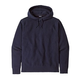 patagonia - M's Recycled Cashmere Hoody Pullover, Navy Blue (NVYB)