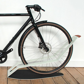 "quarterre products  - ""shadow"" bike stand"