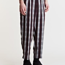 Ann Demeulemeester - Ann Demeulemeester Men's Front Pleat Cole Pants