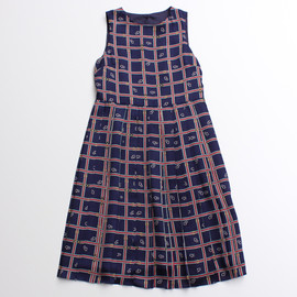 Dot and Stripes CHILD WOMAN - プリーツワンピース