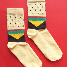 Lazy Oaf - Burger Socks