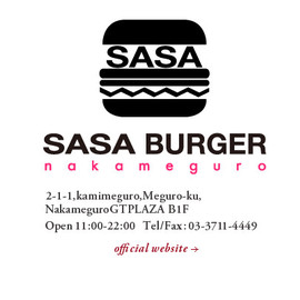SASA BURGER nakameguro - Avocado Burger,Mozzarella Cheese Burger and more...