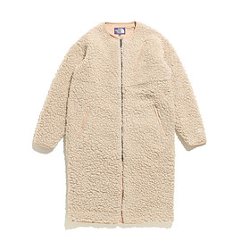 THE NORTH FACE PURPLE LABEL - Wool Boa Fleece Field Long Coat-EC