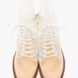 MM6 - TRANSLUCENT BOOTS BY MAISON MARTIN MARGIELA FASHION